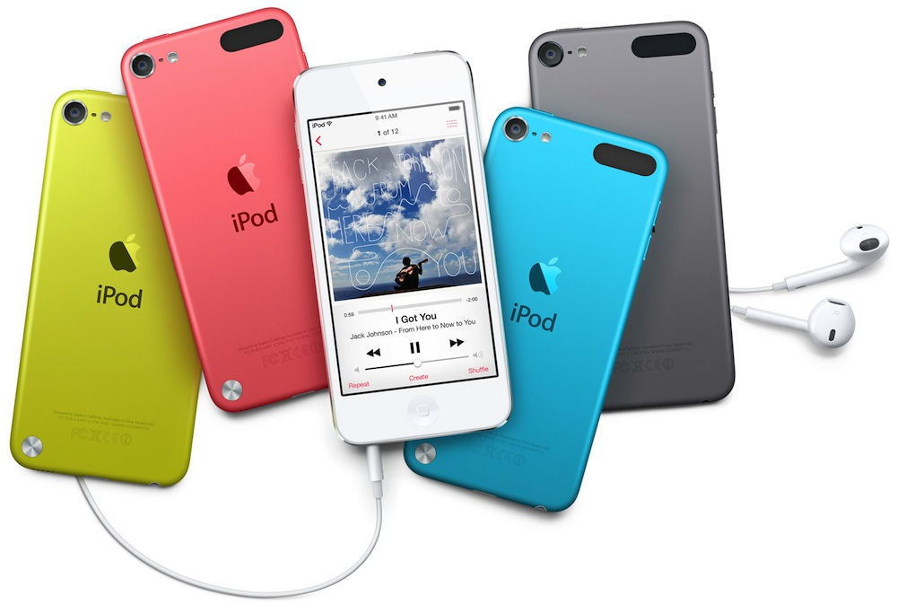 in the iPod touch lineup Ipod