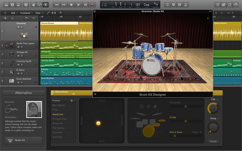 Logic pro x updated with support for garageband 10 project files mac rumors - Latest version of garage band ...