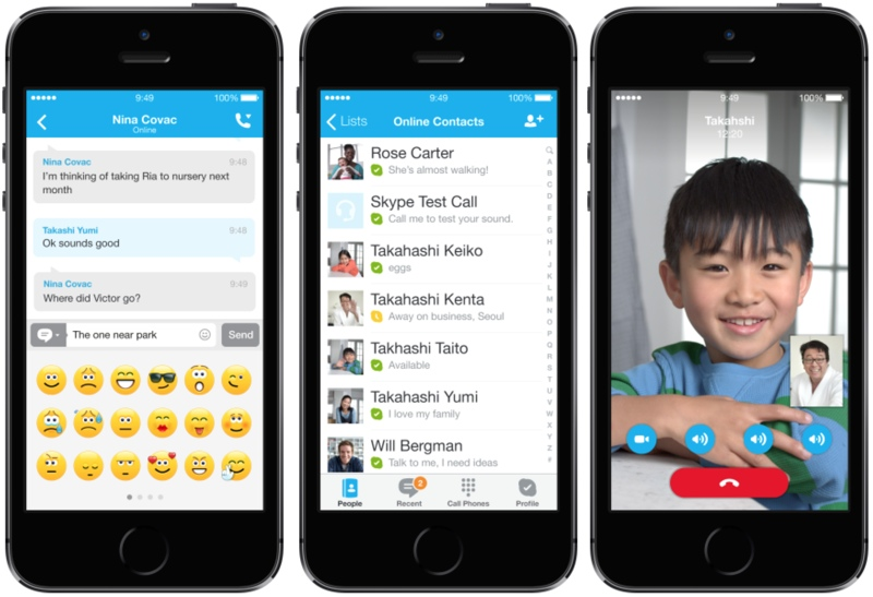Skype for iphone 4