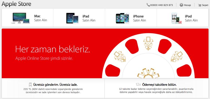 فروشگاه آنلاین محصولات اپل در ترکیه