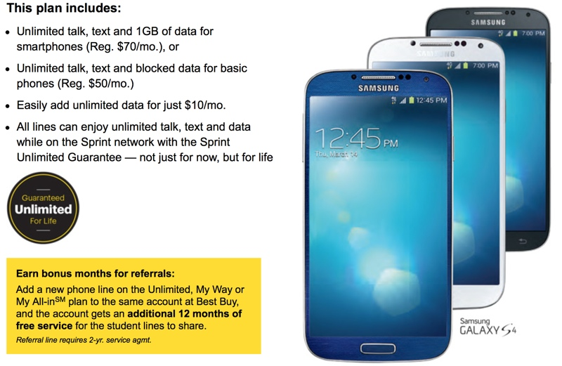 best buy sprint phones without contract does