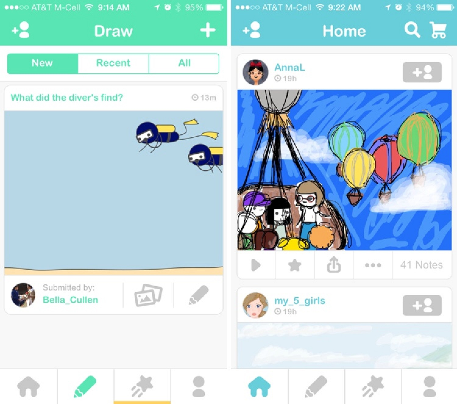 Scribble Drawing Quest : Chan founder s drawquest app now available for the
