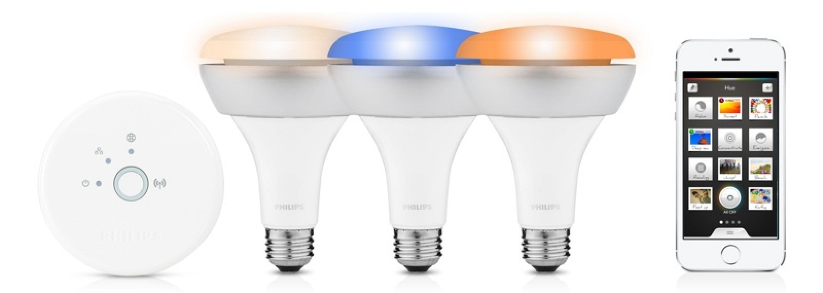philips expands hue lineup with br30 recessed lights mac rumors. Black Bedroom Furniture Sets. Home Design Ideas