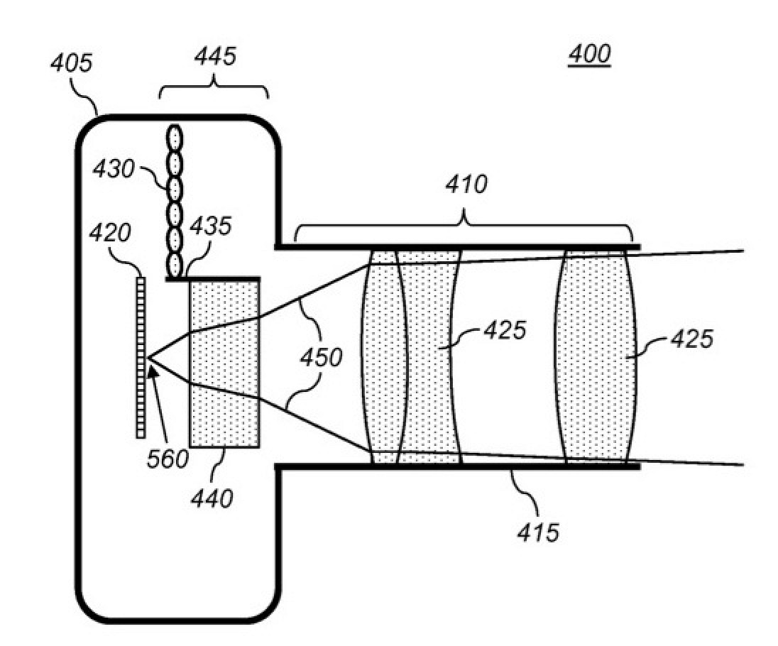 Apple Awarded Patent for Refocusable Camera with Light