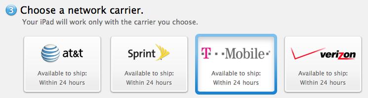 T-Mobile iPad Air