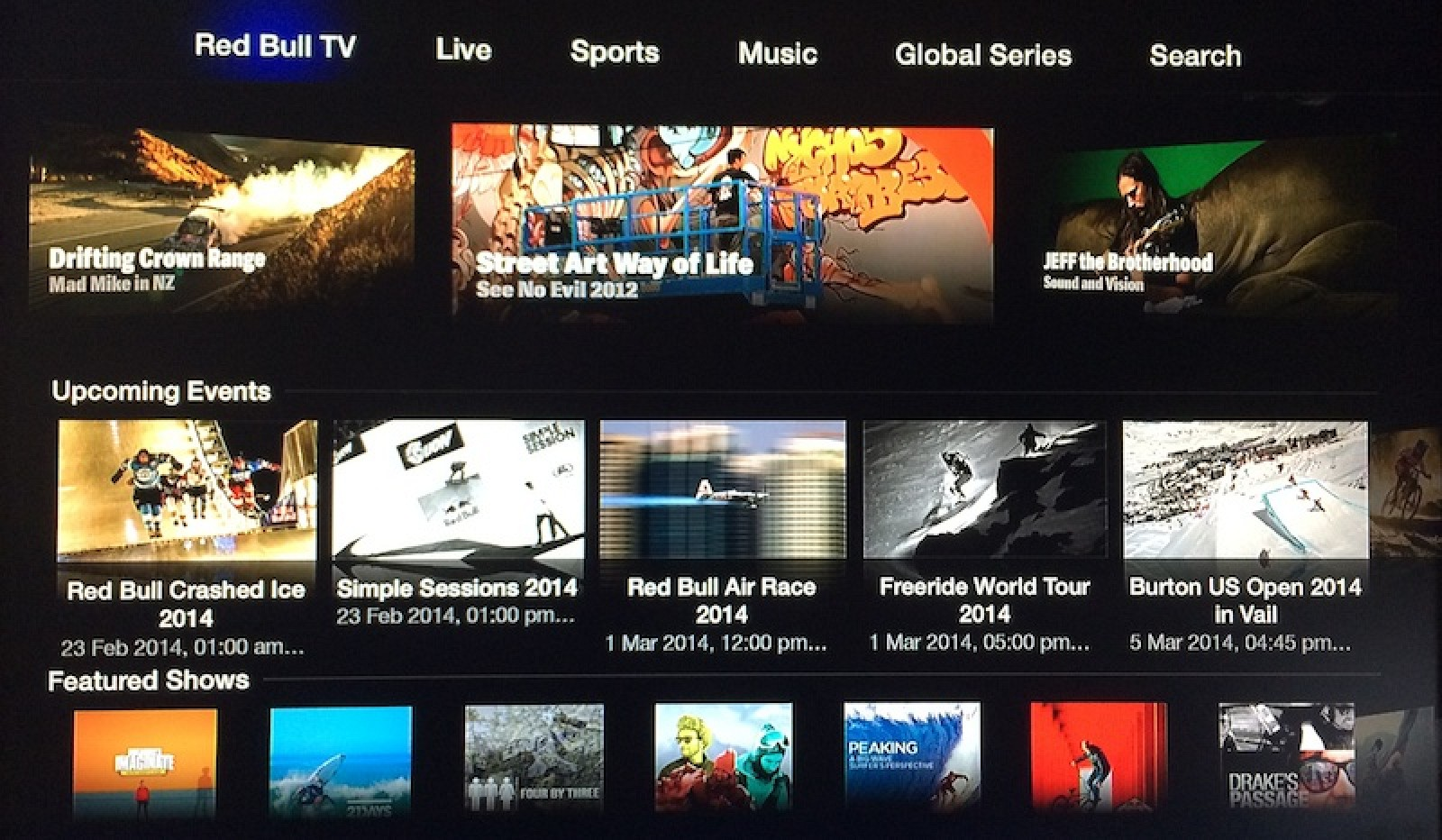 Apple Adds 'Red Bull TV' Action Sports Channel to Apple TV ...