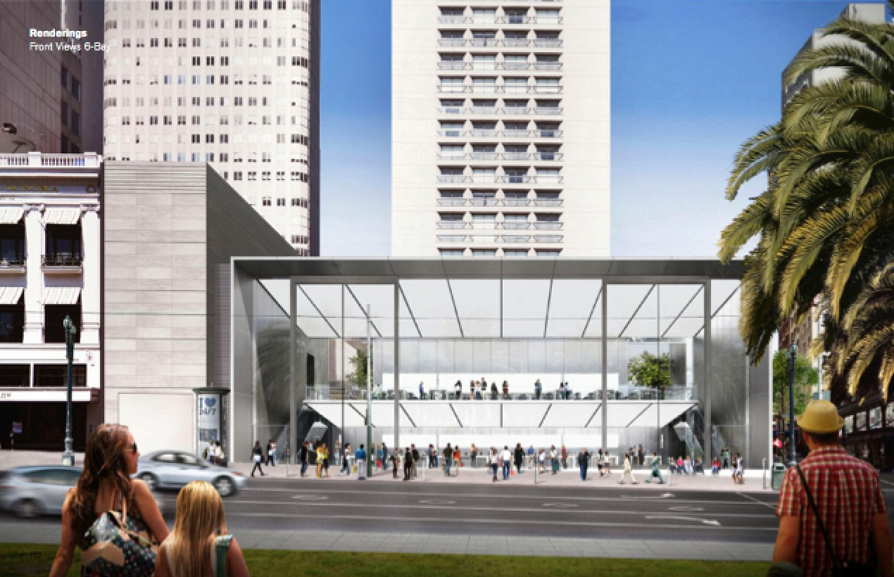 New Renderings Of Apple S New Flagship San Francisco Store