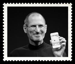 Steve Jobs bude na pamětních poštovních známkách