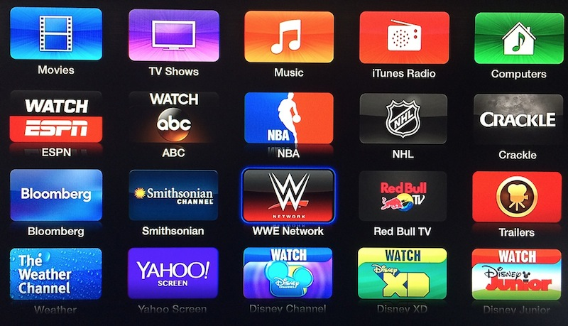 wwe_apple_tv_home