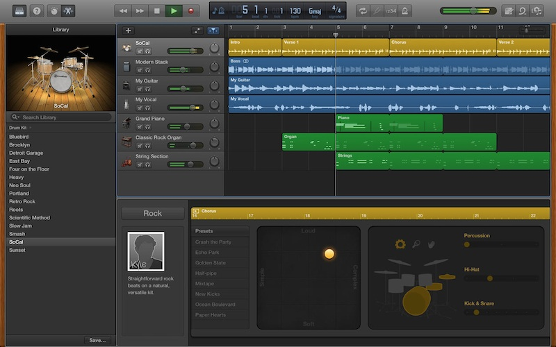 GarageBand for Mac Updated with MP3 Export, New Drummers ...