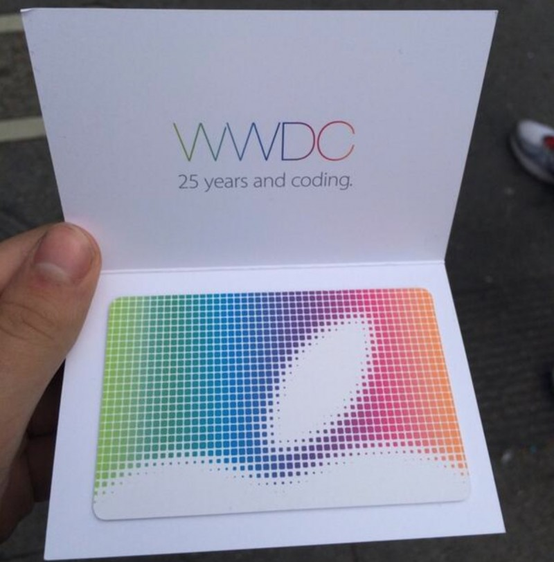 Apple Giving $25 App Store Gift Certificates to WWDC Attendees  Mac Rumors
