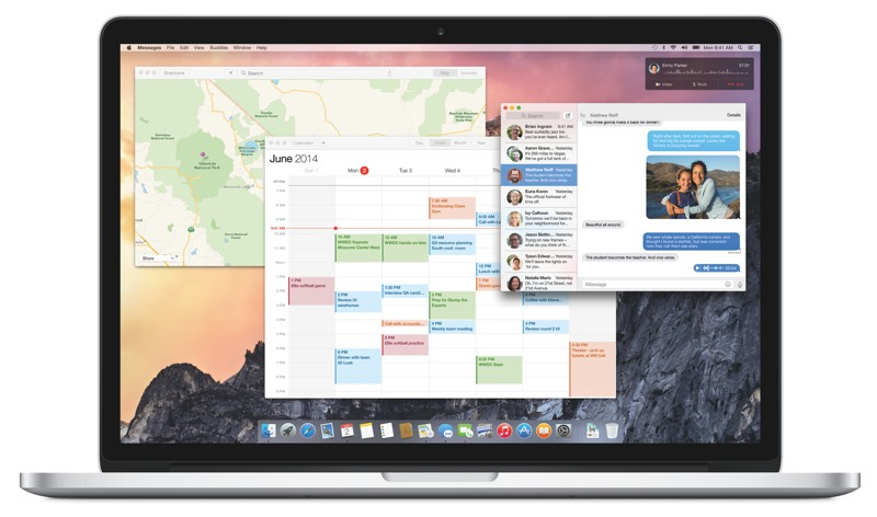 Apple Announces OS X Yosemite with Improved Cross-Device Connectivity and New User Interface