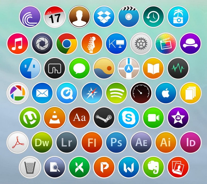Third Party Mac Icons Reimagined In Os X Yosemite Style