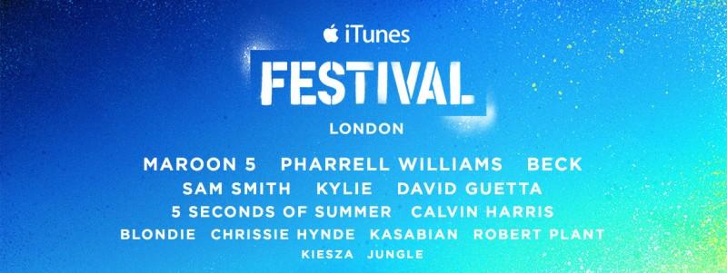 Apple oznámil 8. ročník hudební akce iTunes Festival v Londýně