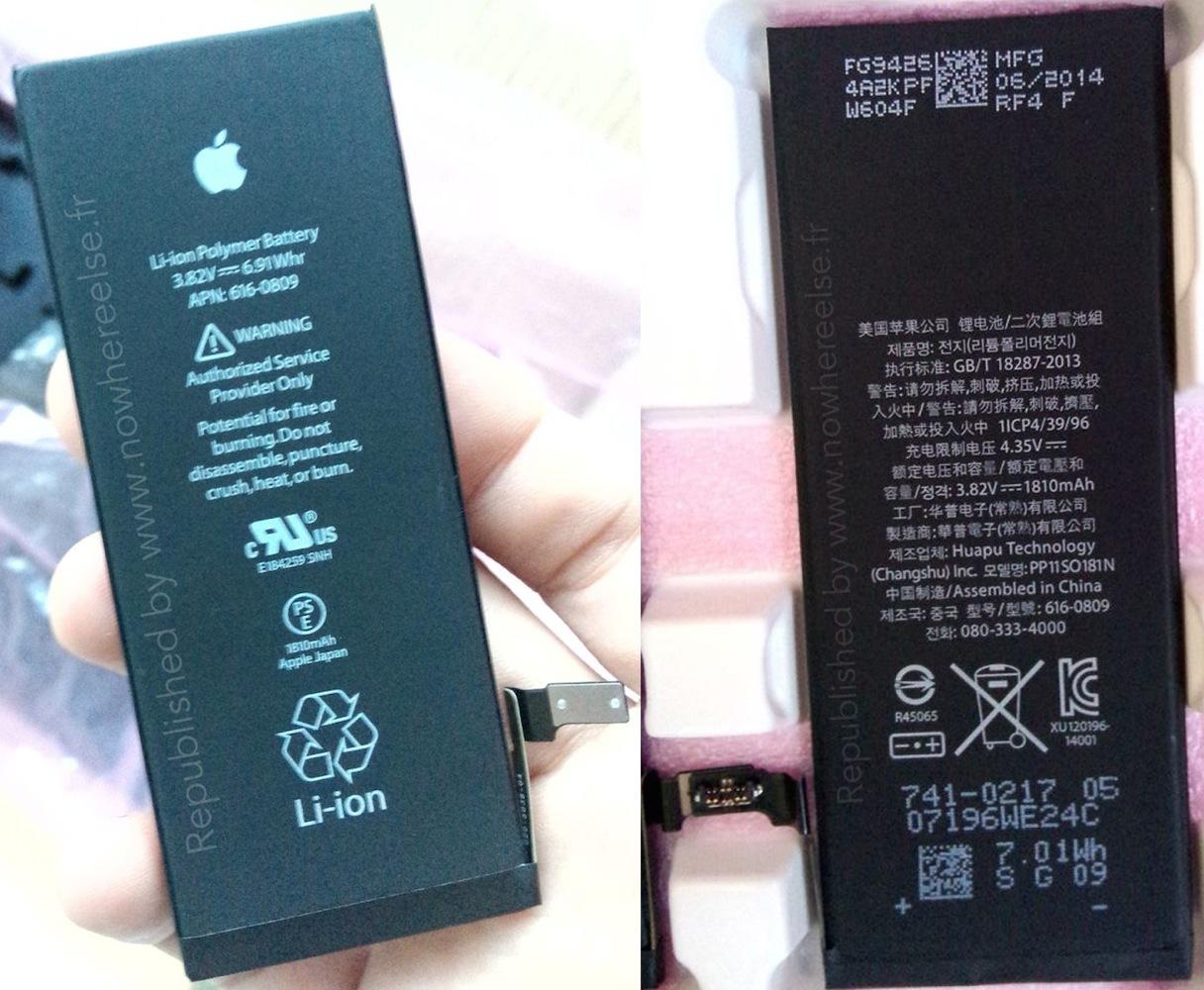Point toward 1 810 mah battery for 4 7 inch iphone 6 mac rumors