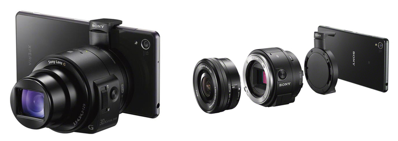 sony-smartphone-Lens-Style Camera