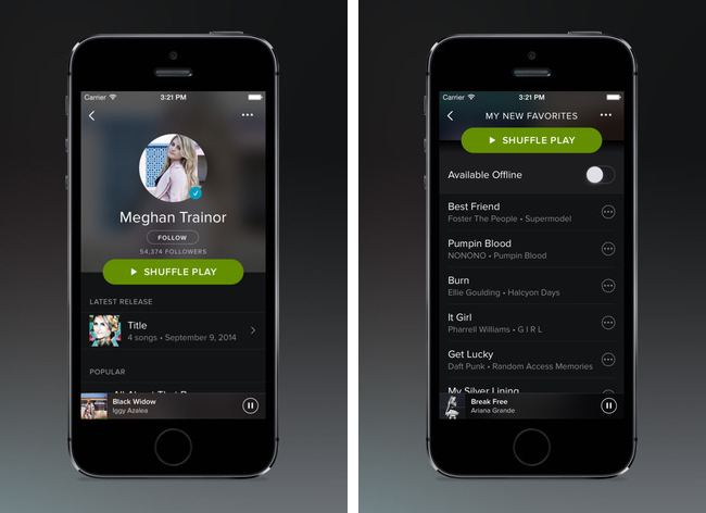 spotify adds carplay support in latest ios update mac rumors. Black Bedroom Furniture Sets. Home Design Ideas
