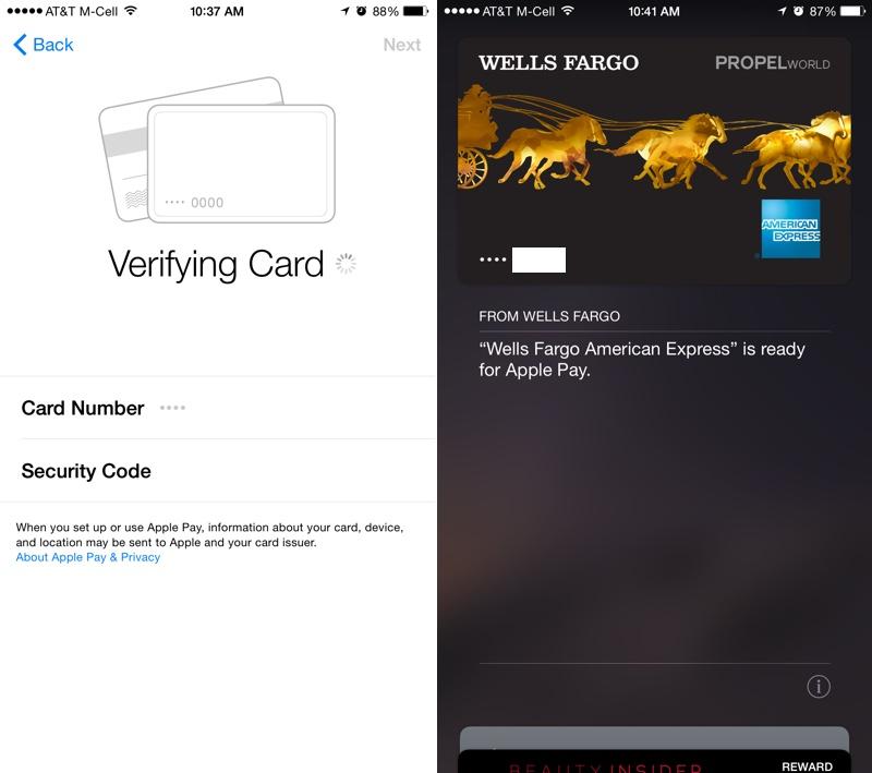 verifyingcardapplepay