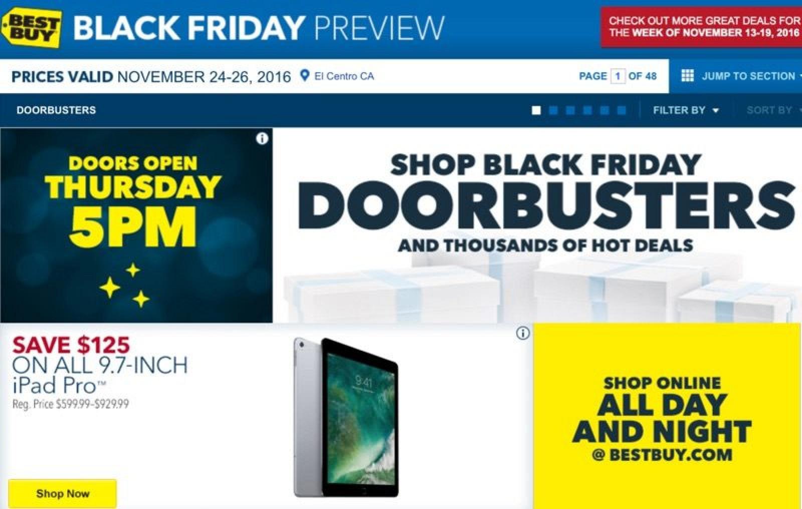 Ipad deals best buy black friday
