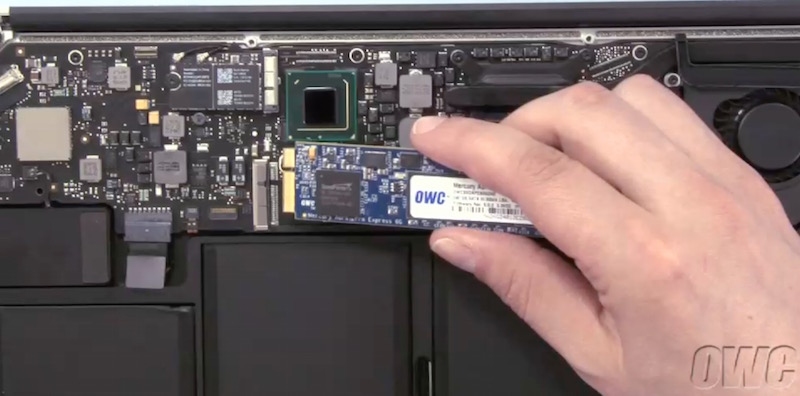 Oppgradere macbook pro ssd