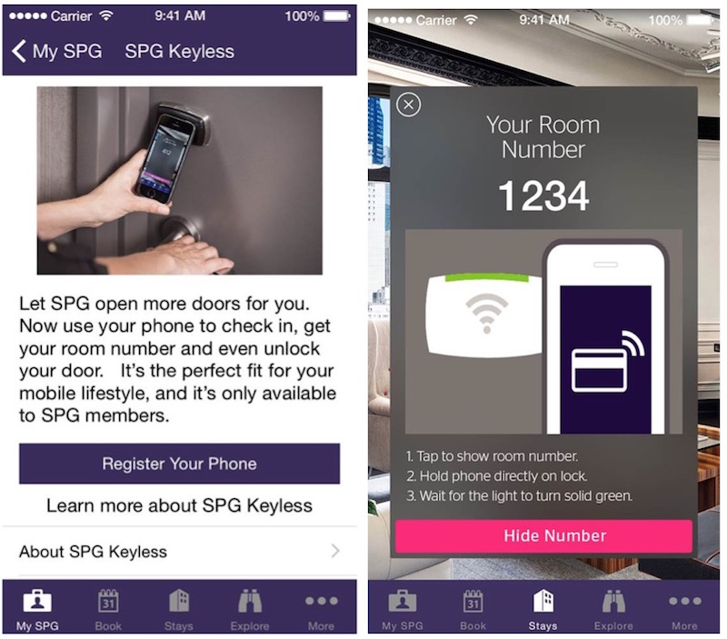 Starwood Begins First Phase Of Mobile Phone Hotel Room Key
