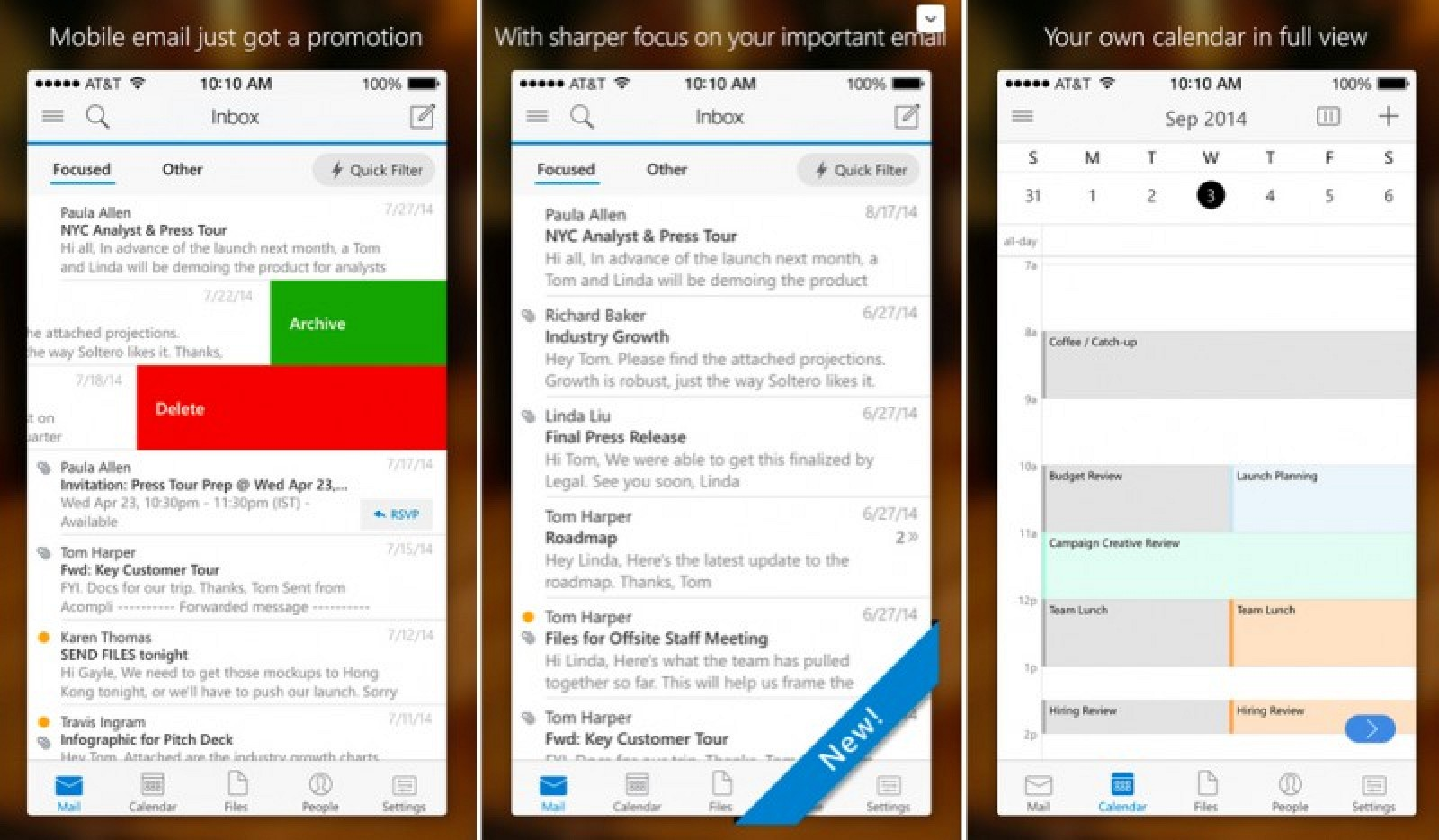how to put outlook signature on iphone
