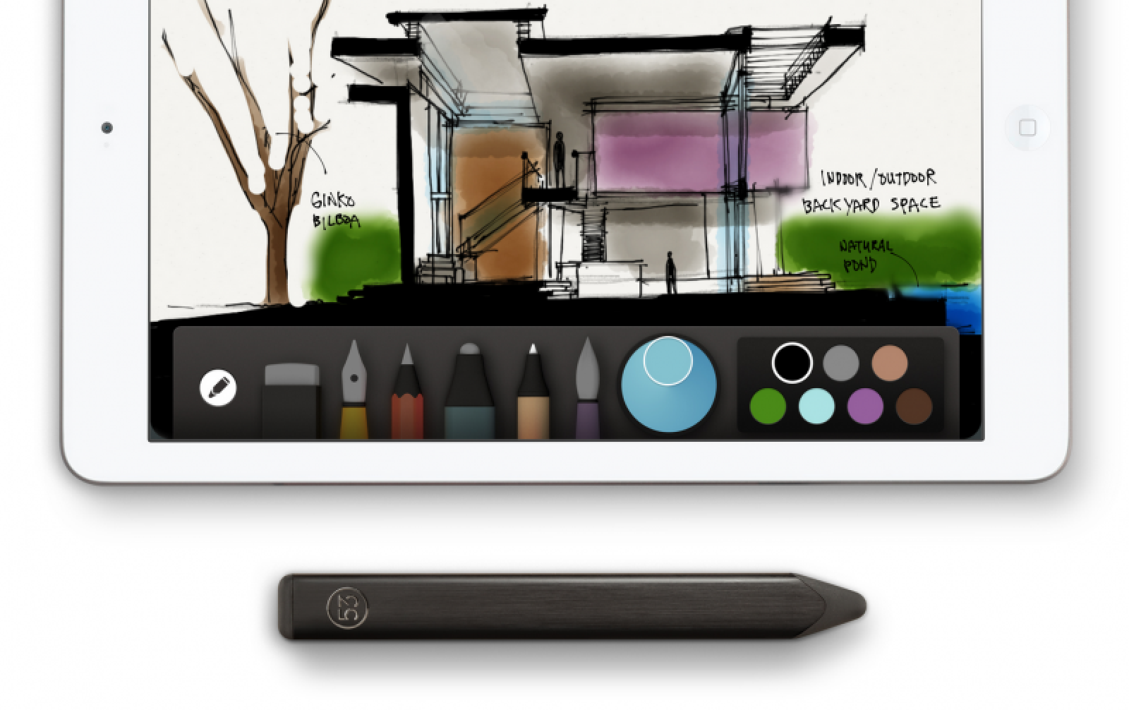 Fiftythree makes all drawing tools in 39 paper 39 ipad app free of charge mac rumors - Application architecture ipad ...