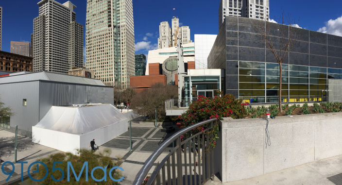 Apple Likely Building Apple Watch Demo Area at Yerba Buena Center
