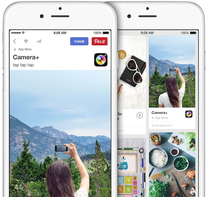 New 39 app pins 39 allow users to install ios apps right from for Pinterest download
