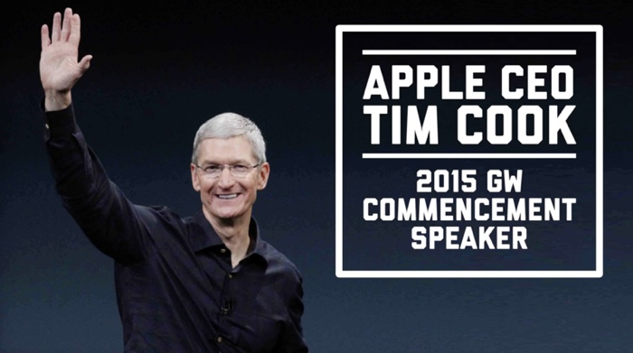 Tim Cook Will Give 2015 Commencement Address at George Washington University