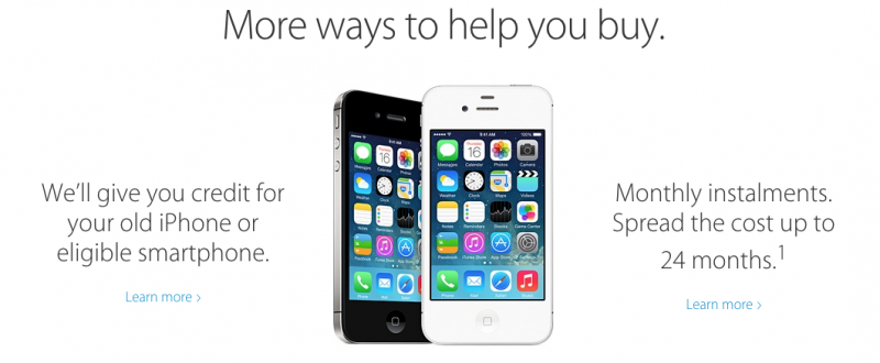 Apple's Smartphone Trade-In Program Launches in United States, Canada and Europe