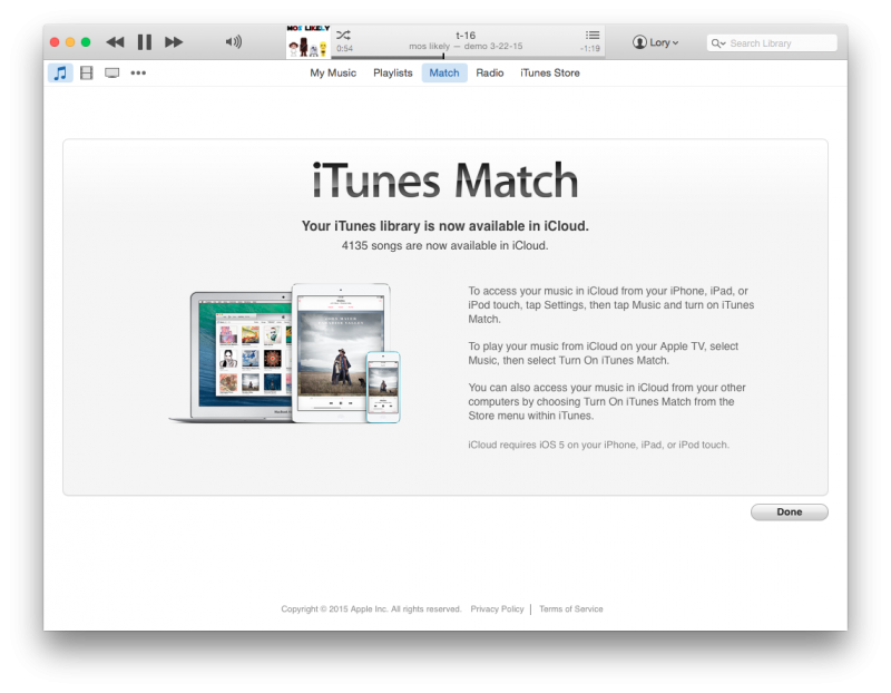 How to Use iTunes Match [Mac Blog]