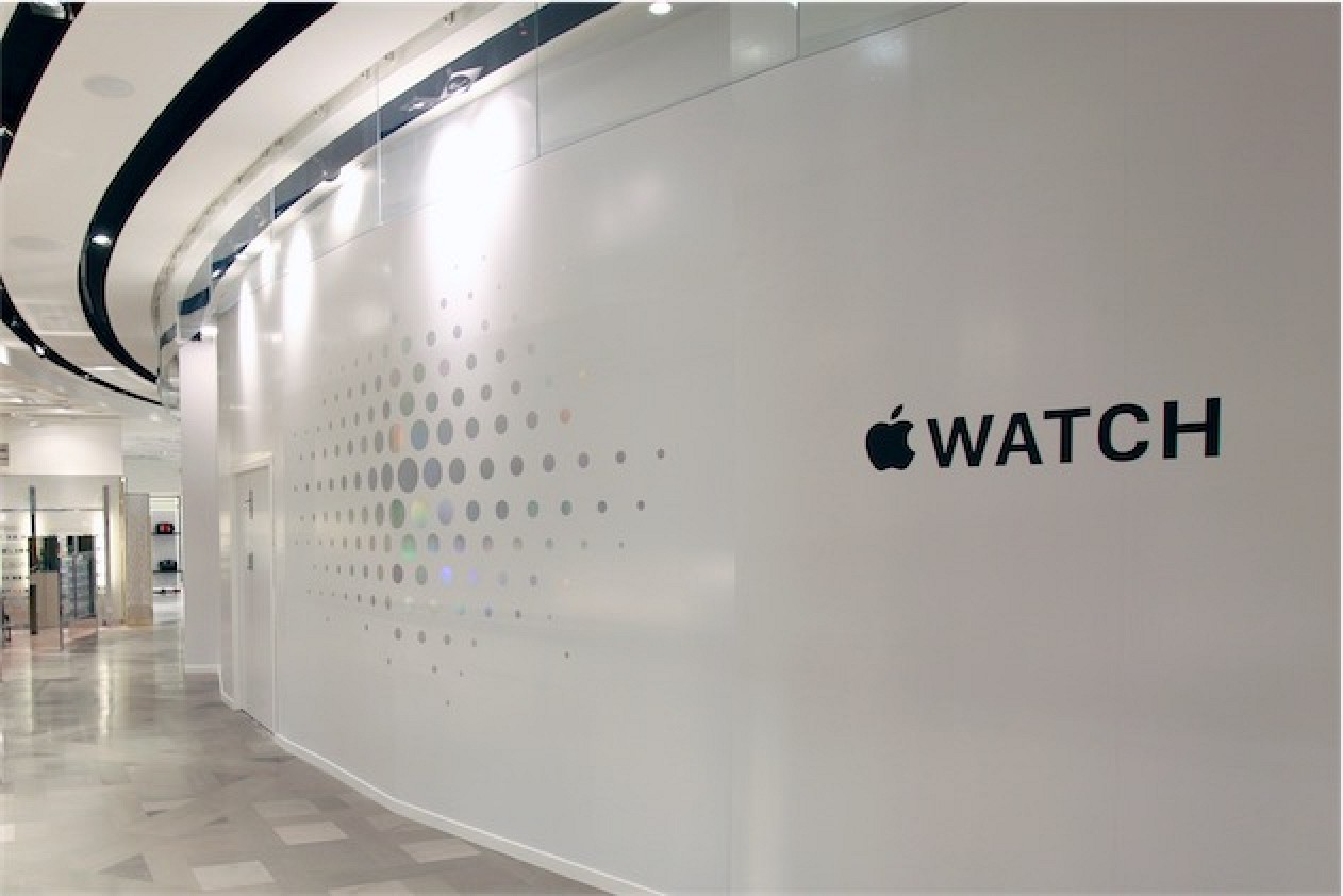 apple watch for sale in retail stores by reservation only no walk in sales mac rumors. Black Bedroom Furniture Sets. Home Design Ideas