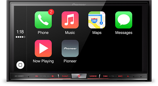 Car stereo with bluetooth phone capabilities