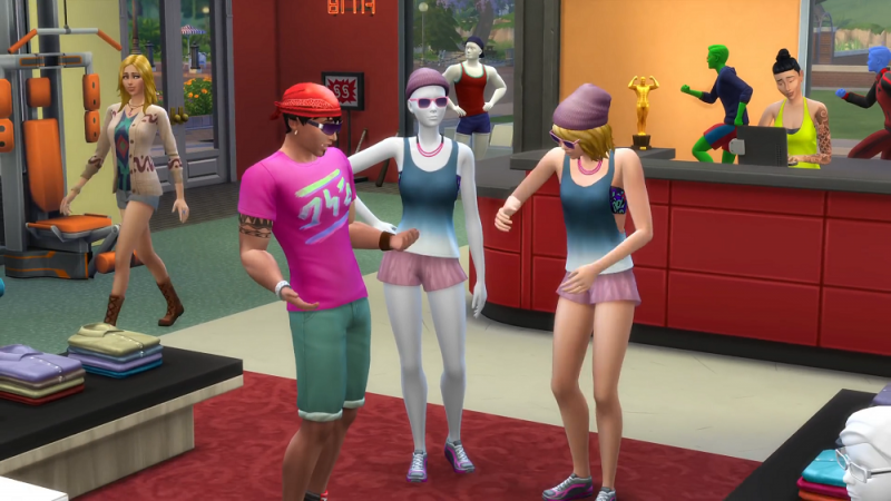 how to get up fun in sims 4