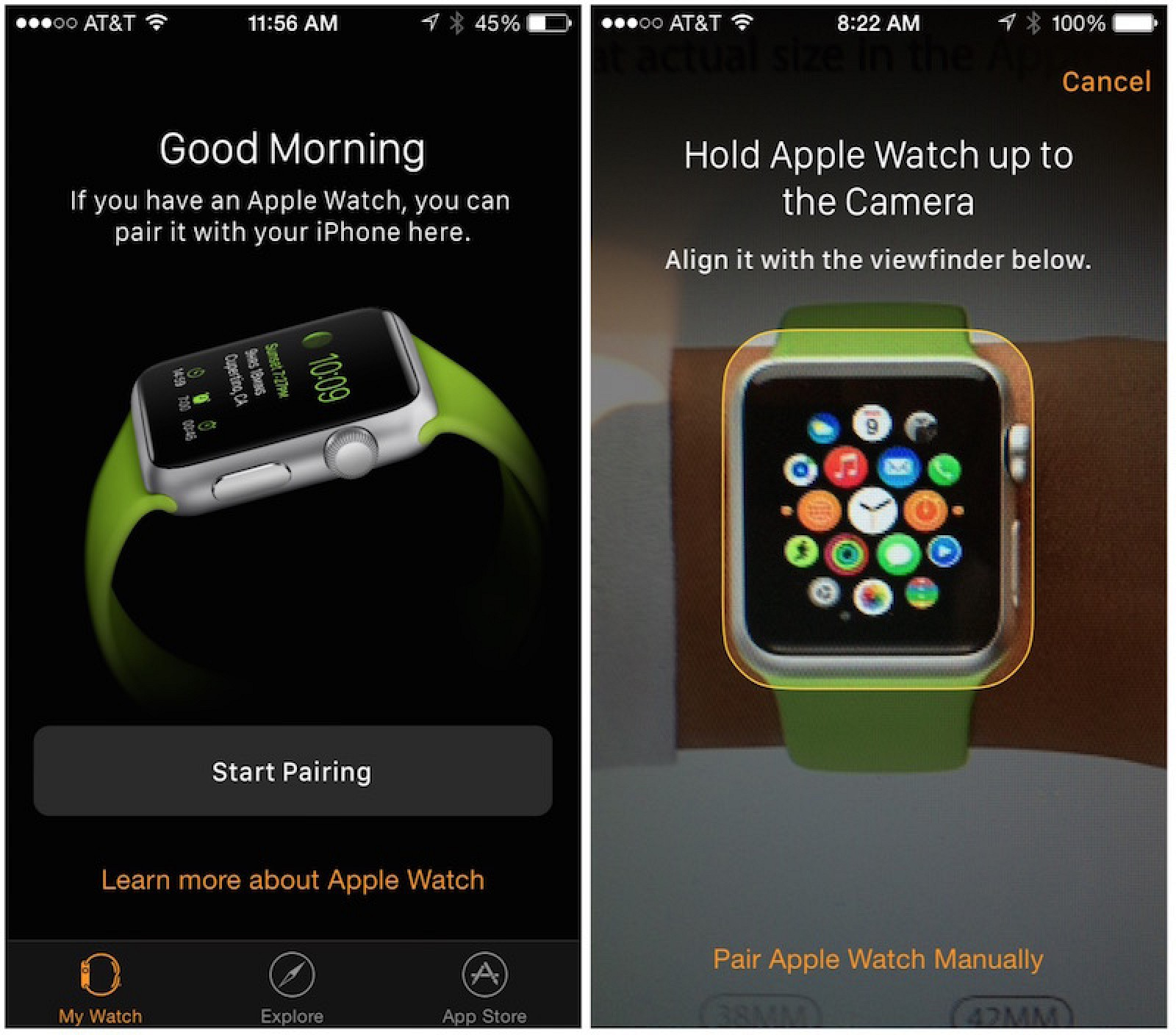 Pairing Apple Watch  With Car