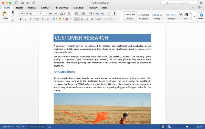 Microsoft Office 2016 for Mac OSX [Preview] (March 26, 2015)