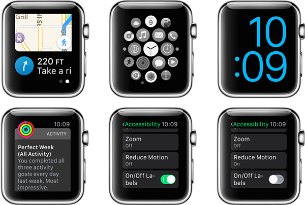 Sunrise Apple Watch Apple Watch Accessibility