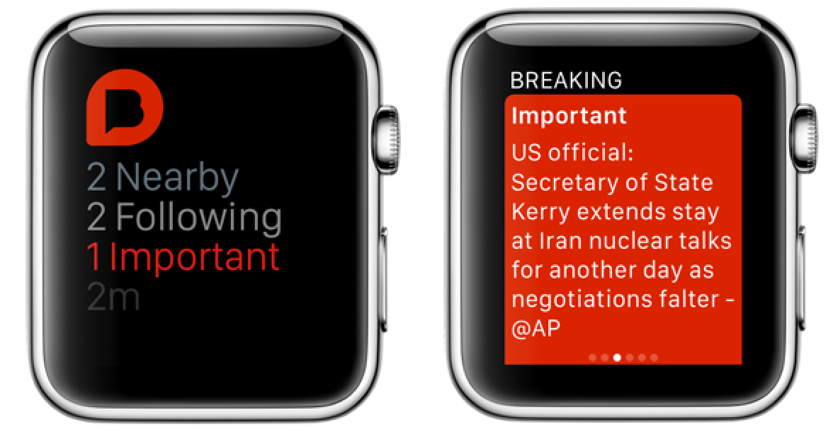 Breaking News Apple Watch