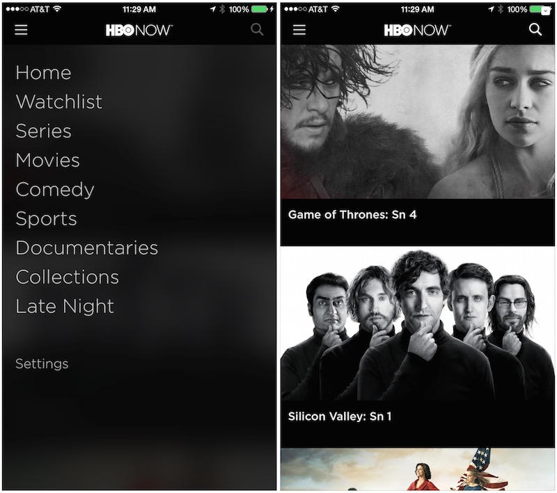 HBO Now iPhone iPad