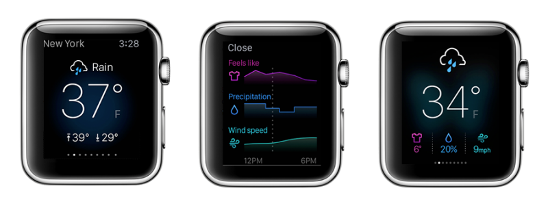 Yahoo Weather Apple Watch