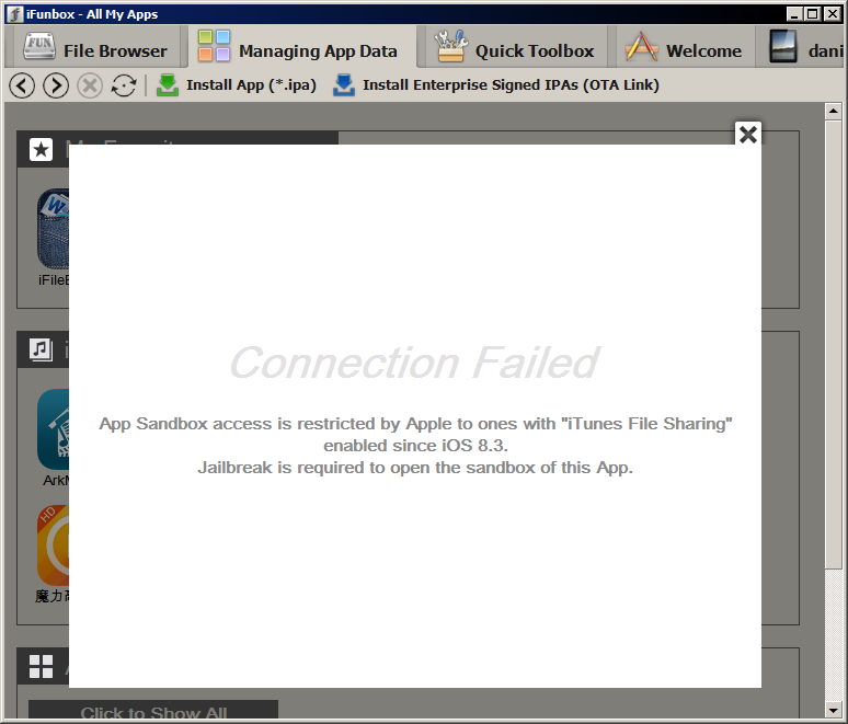 iOS 8.3 Prevents iFunBox, iExplorer and Similar Tools From Accessing ...