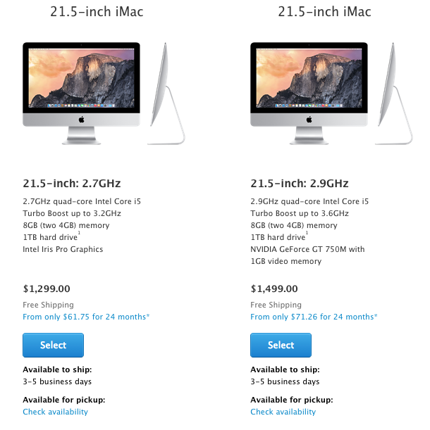 iMac Shipping Estimates Slip to 3-5 Business Days for Most Models