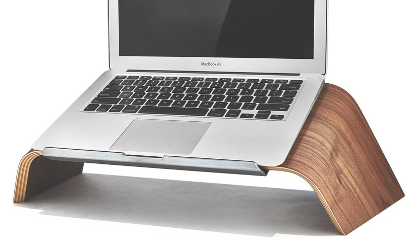Grovemade Debuts New Maple and Walnut Wood Laptop Stands - Mac Rumors