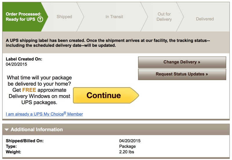 UPS Tracking Numbers Start Trickling Out to Apple Watch Customers ...
