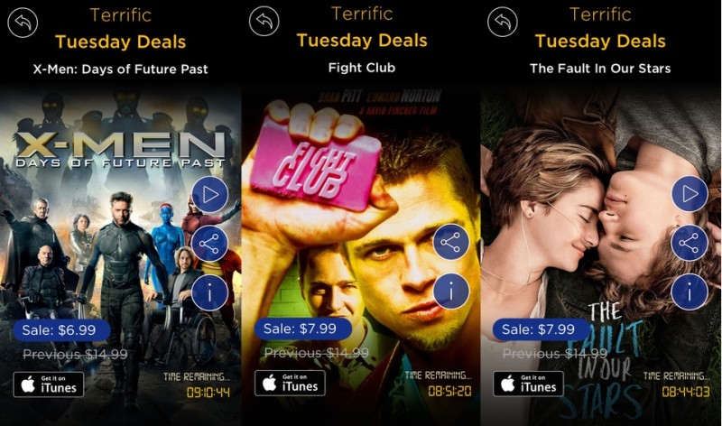 Fox Debuts 'Movie of the Day!' App With Daily Discounts on iTunes Movies [iOS Blog]