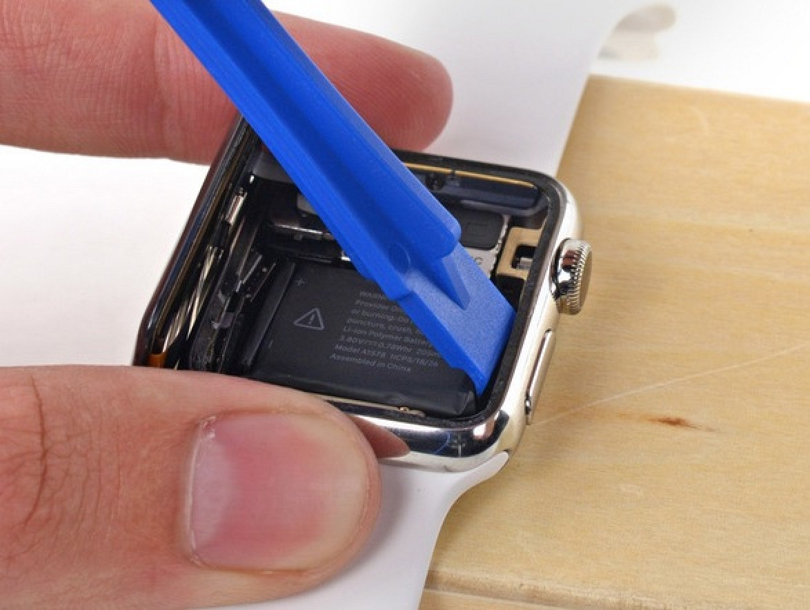 ifixit posts apple watch repair manuals for battery