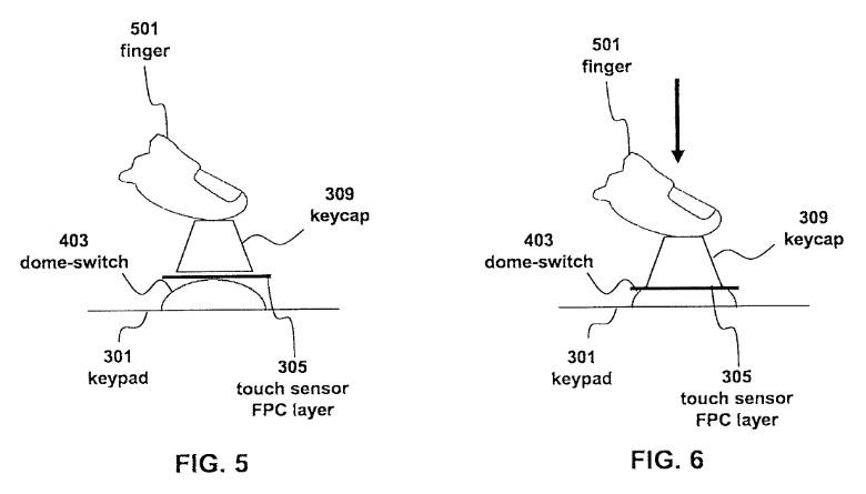 keyboard patent