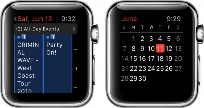 how to add reminders and view your daily schedule on apple watch mac rumors