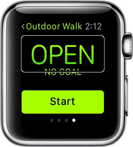 Voiceover on Apple Watch
